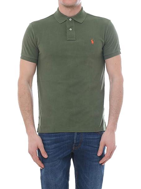 Ralph Lauren Polo Shirt IN Cotton, Hombre, Talla M.: Amazon.es ...