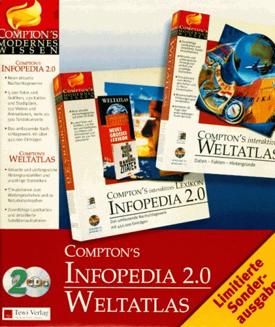 Comptons Infopedia 2.0/Weltatlas. 2 CD- ROMs für Windows 3.1/95
