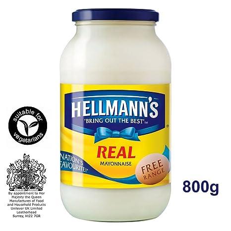 Hellmann\'s Real Mayonnaise 800g - Amerika\'s Nr. 1: Amazon.de ...
