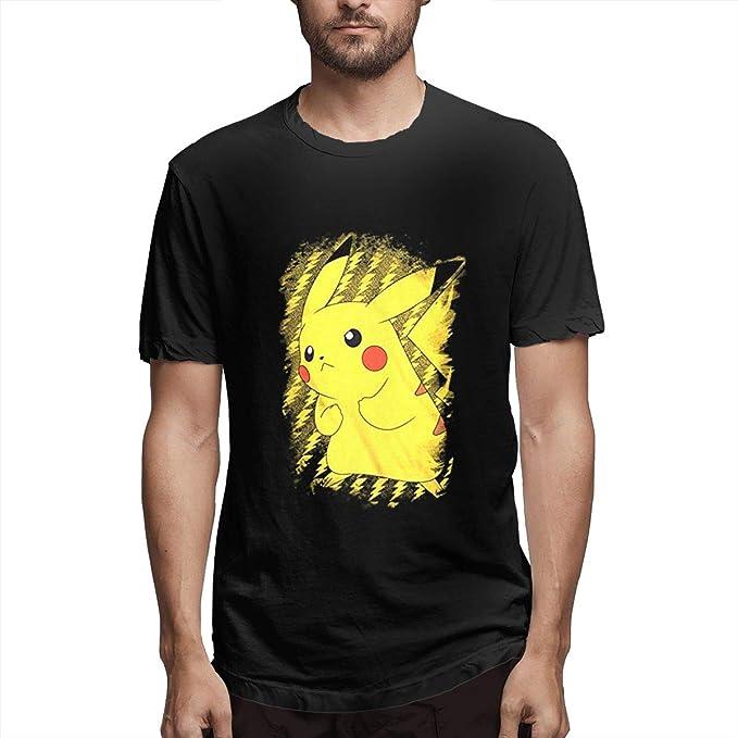 Pokémon-2 La última Camisa de Manga Corta para Hombres Adultos Traje de Verano para Hombres Tops para Hombres XXL: Amazon.es: Ropa y accesorios