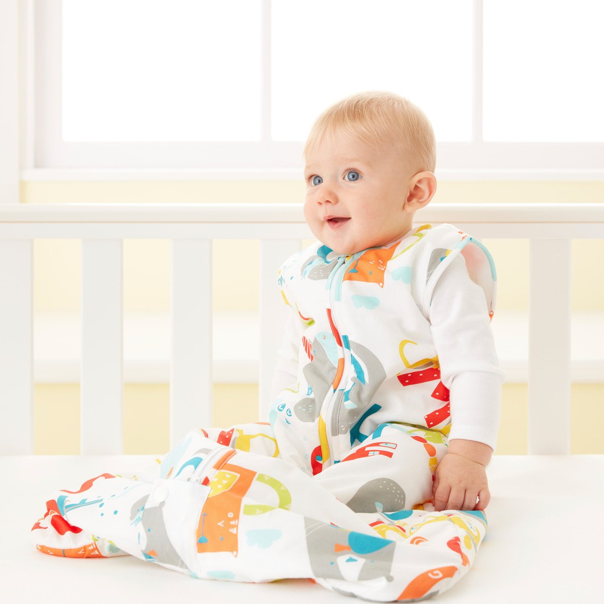 Grobag Travel Baby Sleeping Bag - E is for Elephant 2.5 Tog (18-36 Months) by grobag (Image #5)
