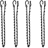 XDW-GIFTS 4-Pack Hanging Chain for Bird Feeders, Planters, Lanterns, Ornaments Fixtures, Lanterns, Suet Baskets, Wind Chimes