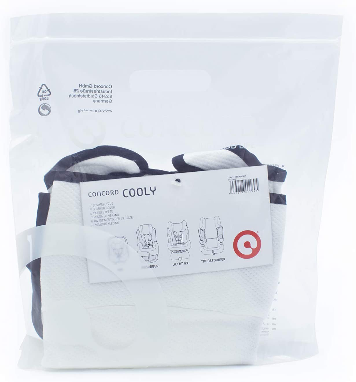 Concord Accessoire Si/ège Auto Housse Rafra/îchissante Cooly//Absorber XT