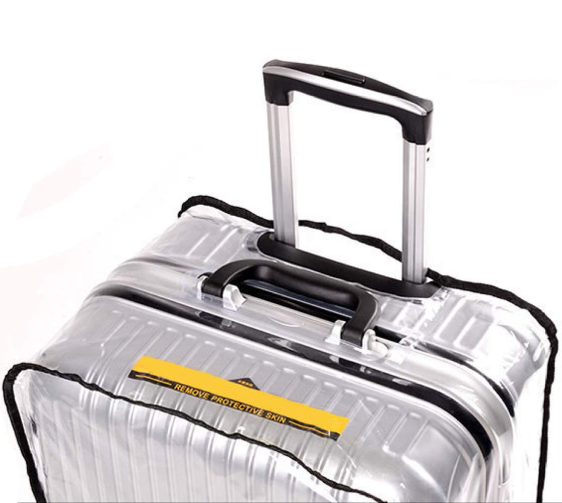 Luggage Cover, Clear PVC Luggage Suitcase Cover Travel Luggage Protector (22'') by HIGO MALL (Image #8)