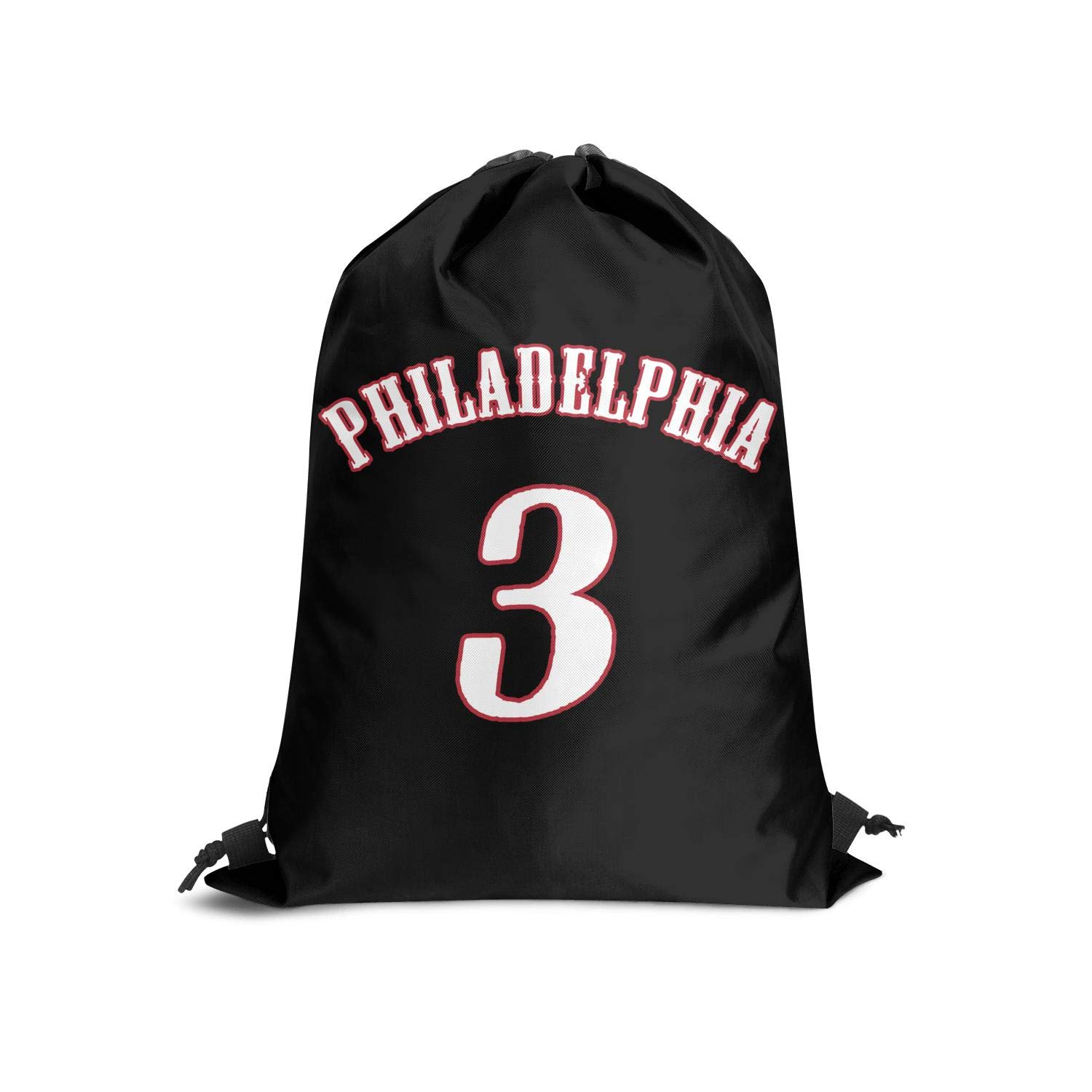 Sios07 Players Sackpack Drawstring Backpack Athletic Fashion Classic Gym Adjustable
