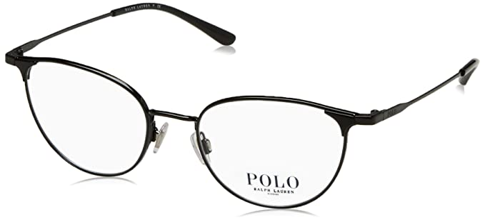 Ralph Lauren Polo 0PH1174, Monturas de Gafas para Mujer, Shiny Black, 51: Amazon.es: Ropa y accesorios
