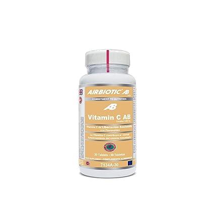 Airbiotic AB - Vitamina C AB Complex 1.000 mg - 30 tabletas de Liberación Sostenida.