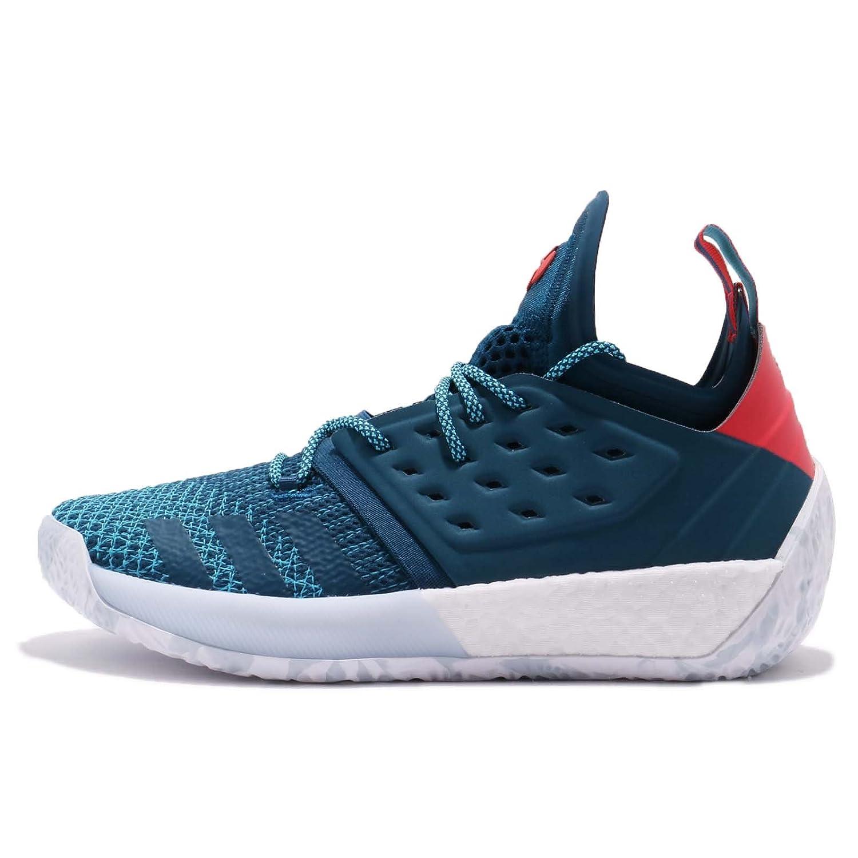 (アディダス) ハーデン Vol.2 メンズ バスケットボール シューズ adidas Harden Vol.2 AH2216 [並行輸入品] B07C1XCV1N 30.0 cm BLUE NIGHT/BRIGHT CYAN/SHOCK RED