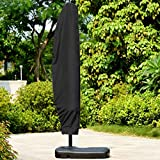 Kenthia Outdoor Patio Yard Parasol Umbrella Waterproof Shade Cover UV Dust Protector