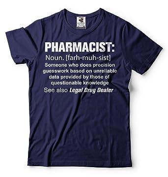7676ea1fa Silk Road Tees Pharmacist T-Shirt Funny Profession Rx Pharmacist Tee Shirt  Small Black