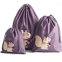 Sannysis 3pcs bolsos de mujer con cordón mochila