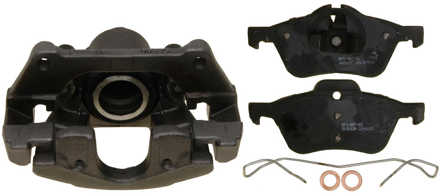 Loaded Remanufactured ACDelco 18R12333 Professional Front Disc Brake Caliper Assembly with Pads