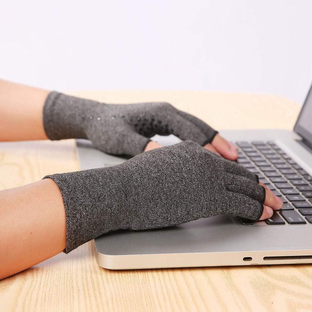 Couleur unie Pour aider /à augmenter la circulation sanguine et r/éduire la douleur Gants de compression th/érapeutiques pour femme TIFIY