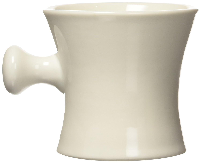 Harry D Koenig Mens Ceramic Shave Mug in White 1-Count SB Shave