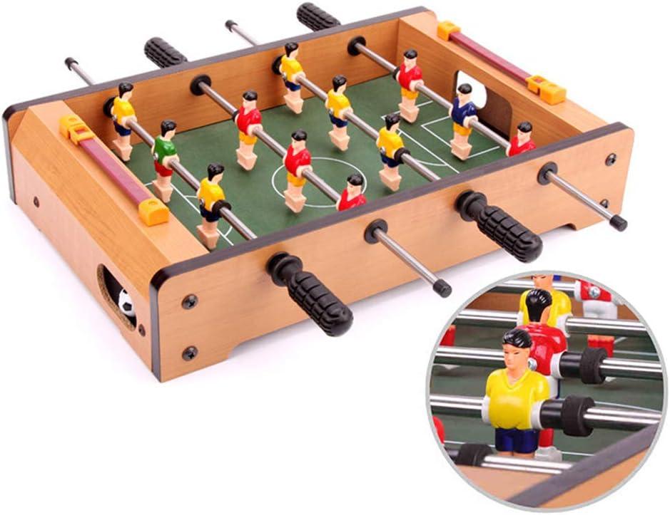 Ydq FutbolíN Juego Juguetes, Mesa De Madera Table Football Games ...