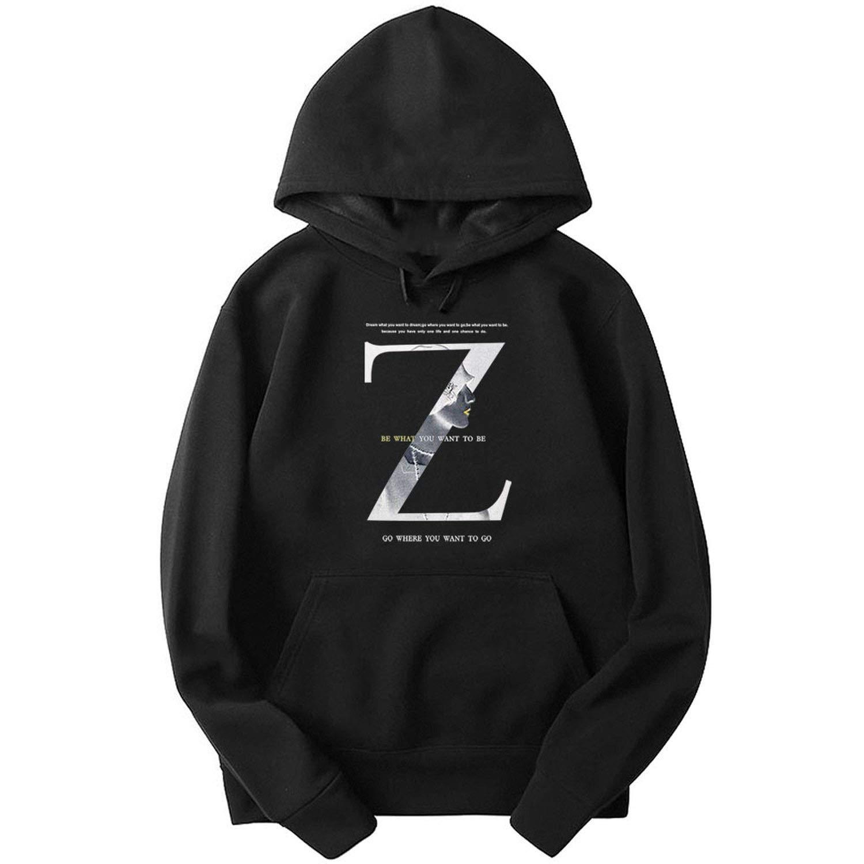 2019 Sweatshirt Male Casual Hoody Men Hip Hop Street Fleece Cotton Hoodie Size XS~4XL