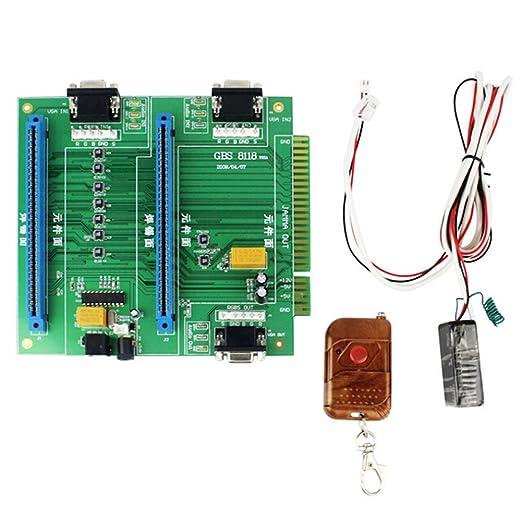 Wildlead - Interruptor de control remoto de Jamma 2 en 1 para ...