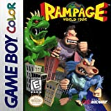 Best Midway Gameboy Color Games - Rampage World Tour - Game Boy Color Review