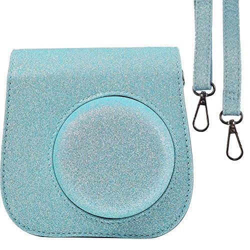 Glitter Camera Case Bag for Fujifilm Instax Mini 9 Instant C