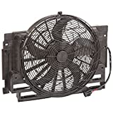 TYC 611400 BMW X5 Replacement A/C Condenser Fan Assembly