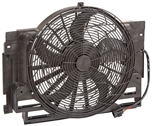 TYC 611400 BMW X5 Replacement A/C Condenser Fan Assembly Bmw Auxiliary Fan Assembly