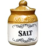 Eco Corner - Salt - Ceramic Jar - 200 Gms Storage Capacity
