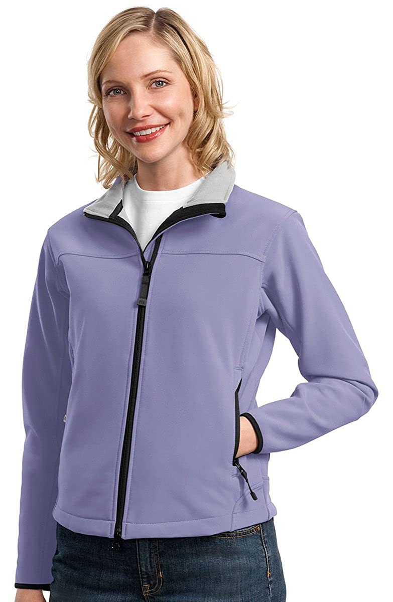 Port Authority Womens Water Resistant Shell Jacket/_Lilac//Chrome/_Small
