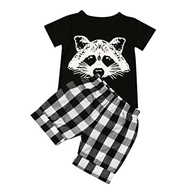 Sky Fox Cabeza de Niño Traje a Cuadros Camiseta a Rayas Boy ...