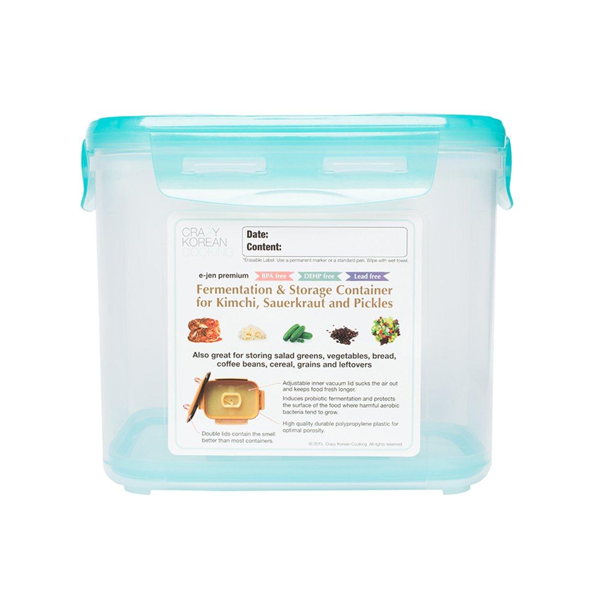 Amazoncom Crazy Korean Cooking Premium Kimchi Sauerkraut