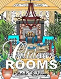 Outdoor Rooms Adult Coloring Book (Adult Coloring Books)