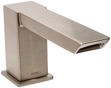 Moen TS9031BN 90-Degree Electronic Roman Tub Faucet, Brushed Nickel ...