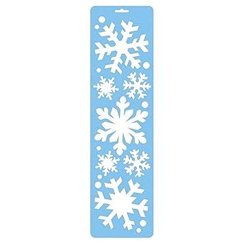 55 cm Frozen Schneeflocke Schablone Dekoration 7 verschiedene Größen ...