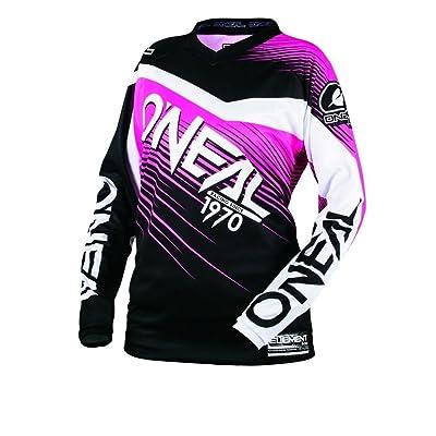 O'Neal 0006-705 Unisex-Adult Element Racewear Jersey (Black/Pink, X-Large): Automotive