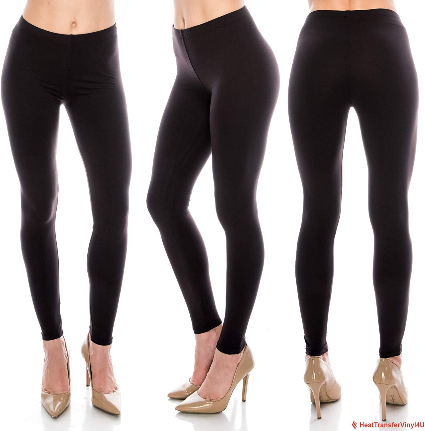 Womens Butter Soft Solid Color Leggings