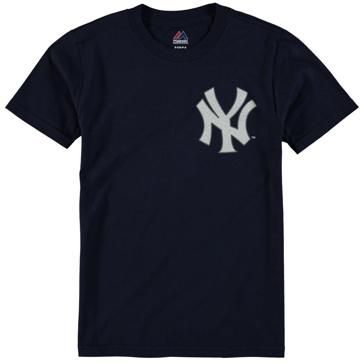 4f9b12f9e4385 Amazon.com   Majestic Aaron Judge New York Yankees  99 MLB Youth Player  T-shirt   Sports   Outdoors