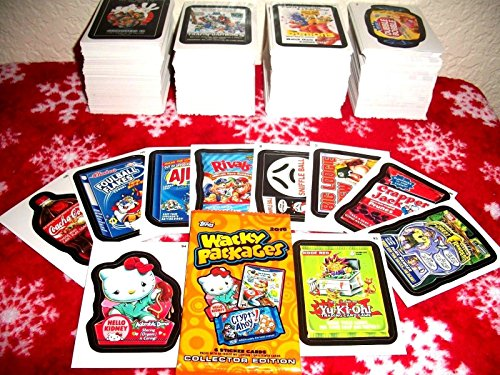 2015 WACKY PACKAGES SERIES 1 LOT OF THIRTY DIFFERENT STICKERS + 2 CEREAL KILLER STICKERS. by Wacky Packages