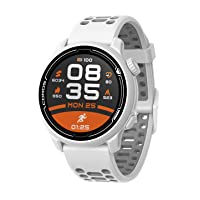 Coros PACE 2 Premium GPS Sport Watch with Nylon or Silicone Band, Heart Rate Monitor, 30h Full GPS Battery, Barometer, ANT+ & BLE Connections, Strava, Stryd & TrainingPeaks