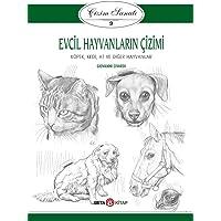 Evcil Hayvanların Çizimi - Çizim Sanatı 9: Köpek, Kedi, At ve Diğer Hayvanlar