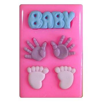Baby Hande Und Fusse Taufe Baby Shower Silikon Form Fur Kuchen