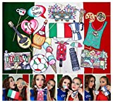 Italy Photo Booth Props