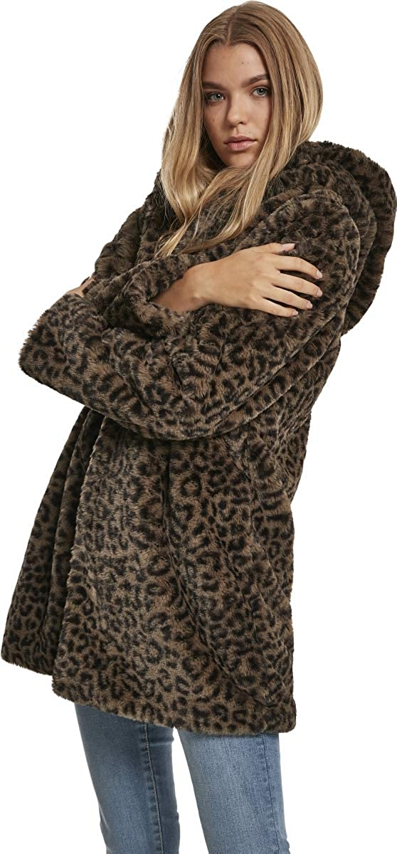 Urban Classics Ladies Leo Teddy Coat Giubbotto Donna: Amazon