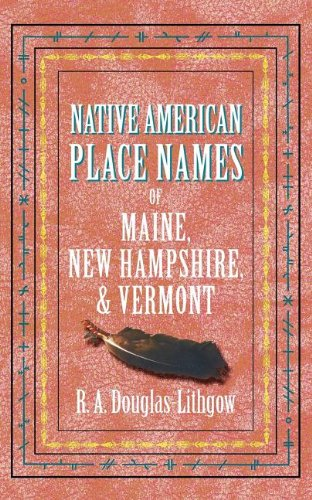 Native American Place Names ME, NH, VT pdf