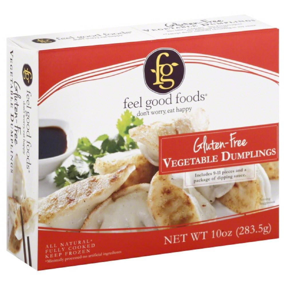 Feel Good Foods Gluten-free Vegetable Dumplings, 10.75 Ounce (pack Of 09)