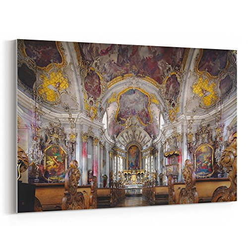 Westlake Art   Chapel Altar   12X18 Canvas Print Wall Art   Canvas Stretched Gallery Wrap Modern Picture Photography Artwork   Ready To Hang 12X18 Inch  F603 5B22c