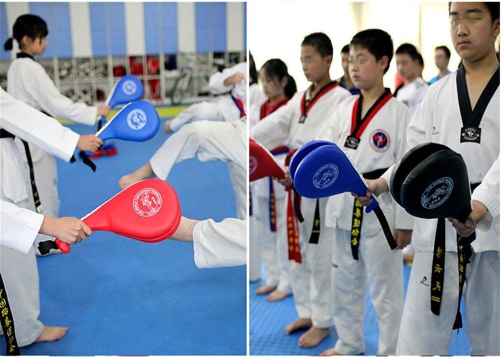 1 Pair Taekwondo Double Kick Pad Target,Durable Tae Kwon Karate Kickboxing Kicking Pad Practice Kick Target Training
