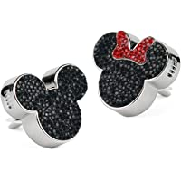 2pack Crystal Bling Sparking Car Fragrance Mickey Mouse Car Diffusser Air Freshener with Vent Clip (Black)