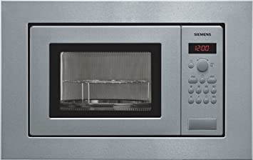 Siemens HF15G561 - Microondas, 1270 W, 10A, 50Hz, 230V, Acero ...