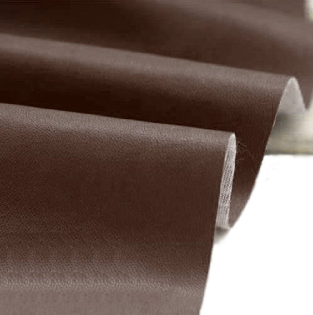 Upholstery Vinyl Faux Leather Look Soft PVC Leathercloth Fabric Clothing