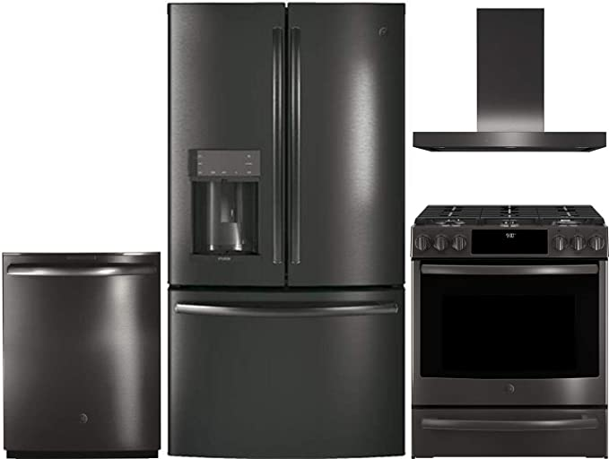 Amazon.com: GE Profile 4 Piece Kitchen Appliance Package ...