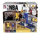 The Bridge Direct NBA LeBron James vs. Paul George